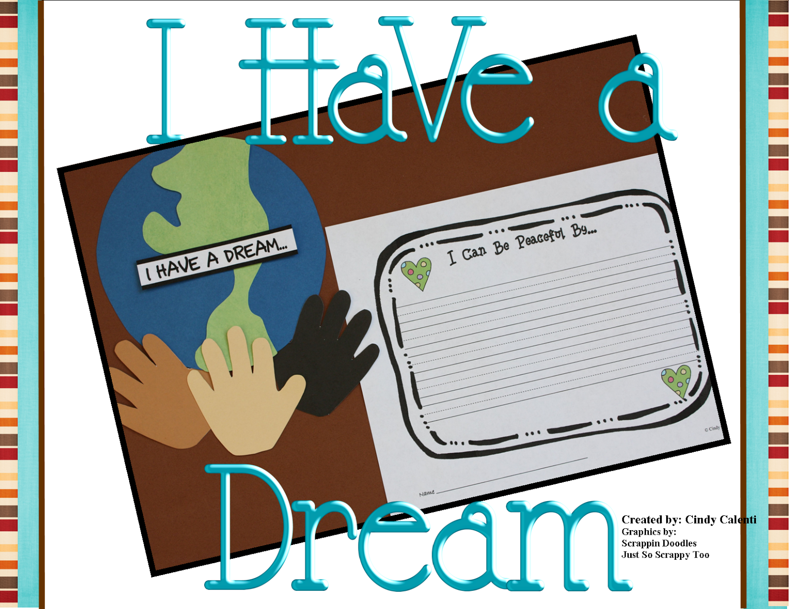 http://www.teacherspayteachers.com/Product/Dr-Martin-Luther-King-Jr-Craft-and-Writing-Prompts-472855