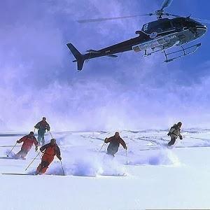 Helicaptor Skiing in Himachal
