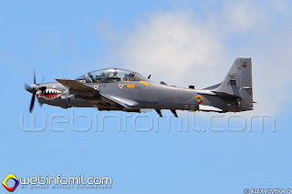 FAC3104 A-29B Super Tucano, Fuerza Aérea Colombiana