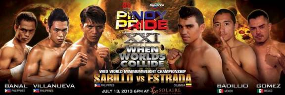 Pinoy Pride XXI (21) Fight Results: AJ Banal, Merlito Sabillo and Arthur Villanueva Win Respective Bouts