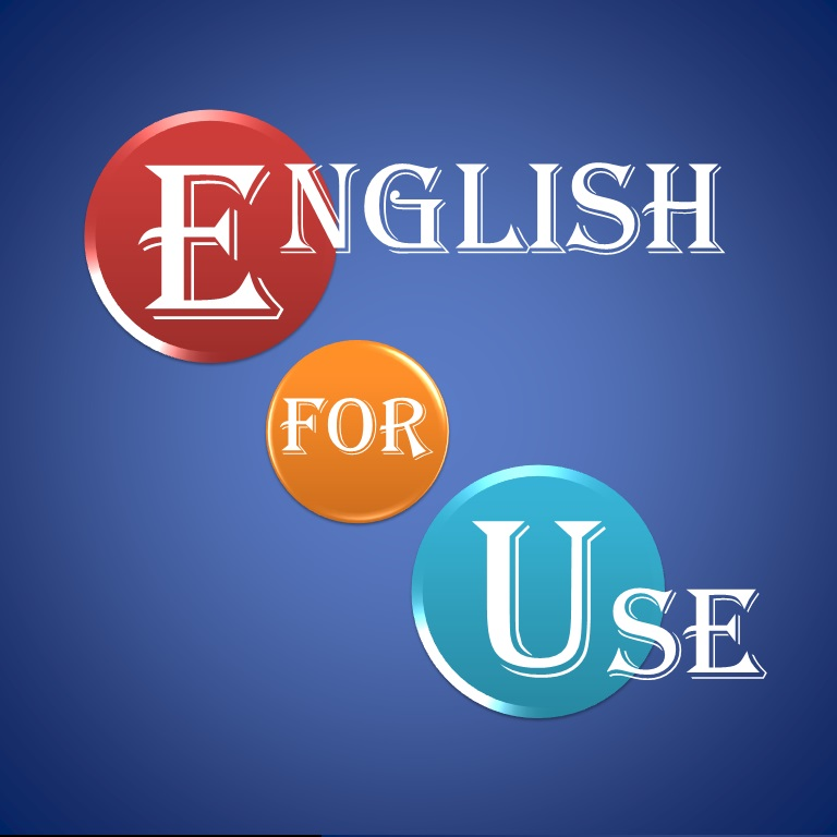 We have a new website: EnglishForUse.com