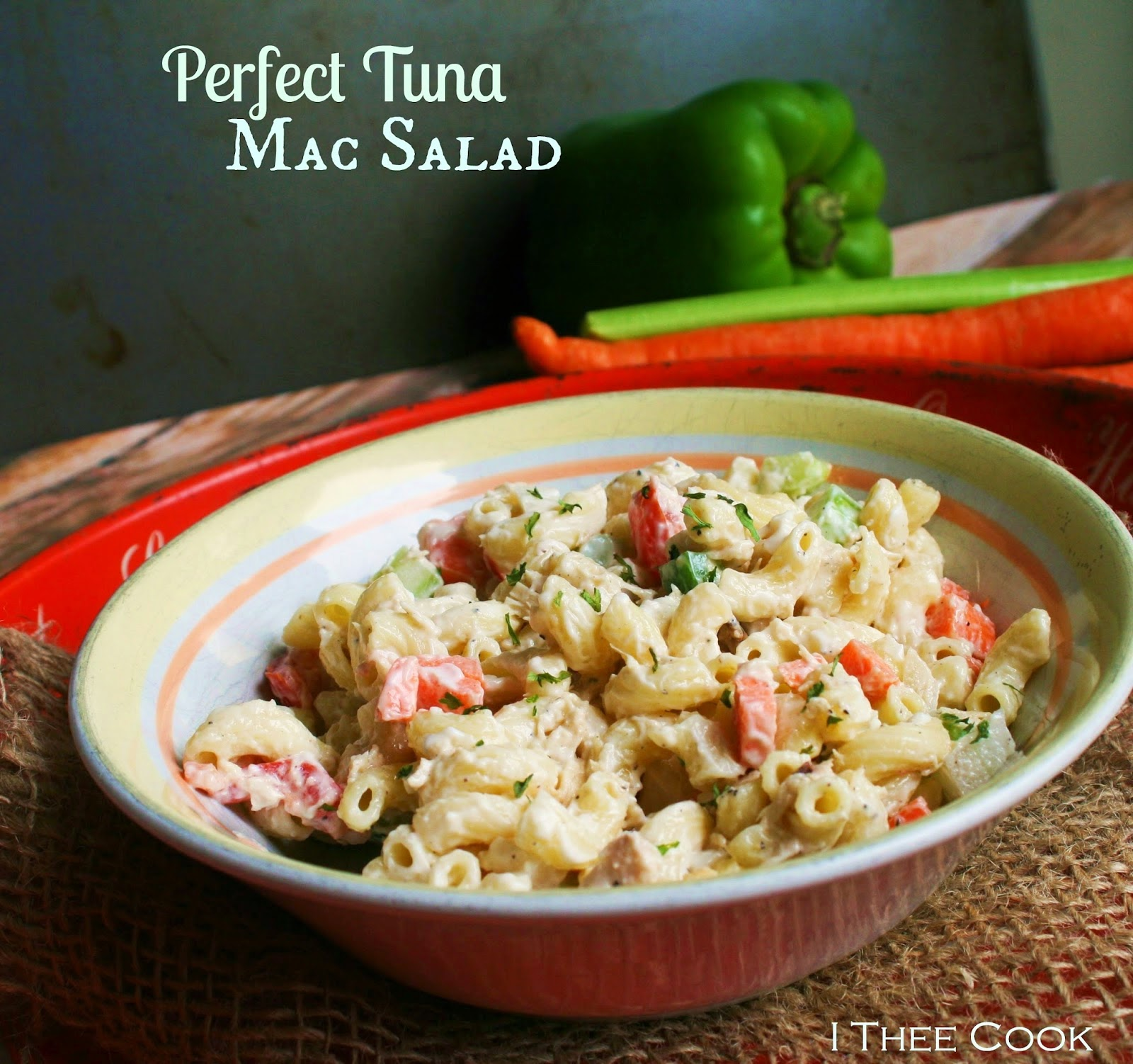 Perfect Tuna Mac Salad