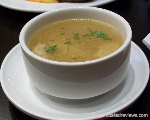 Longganisa Sorpresa molo soup