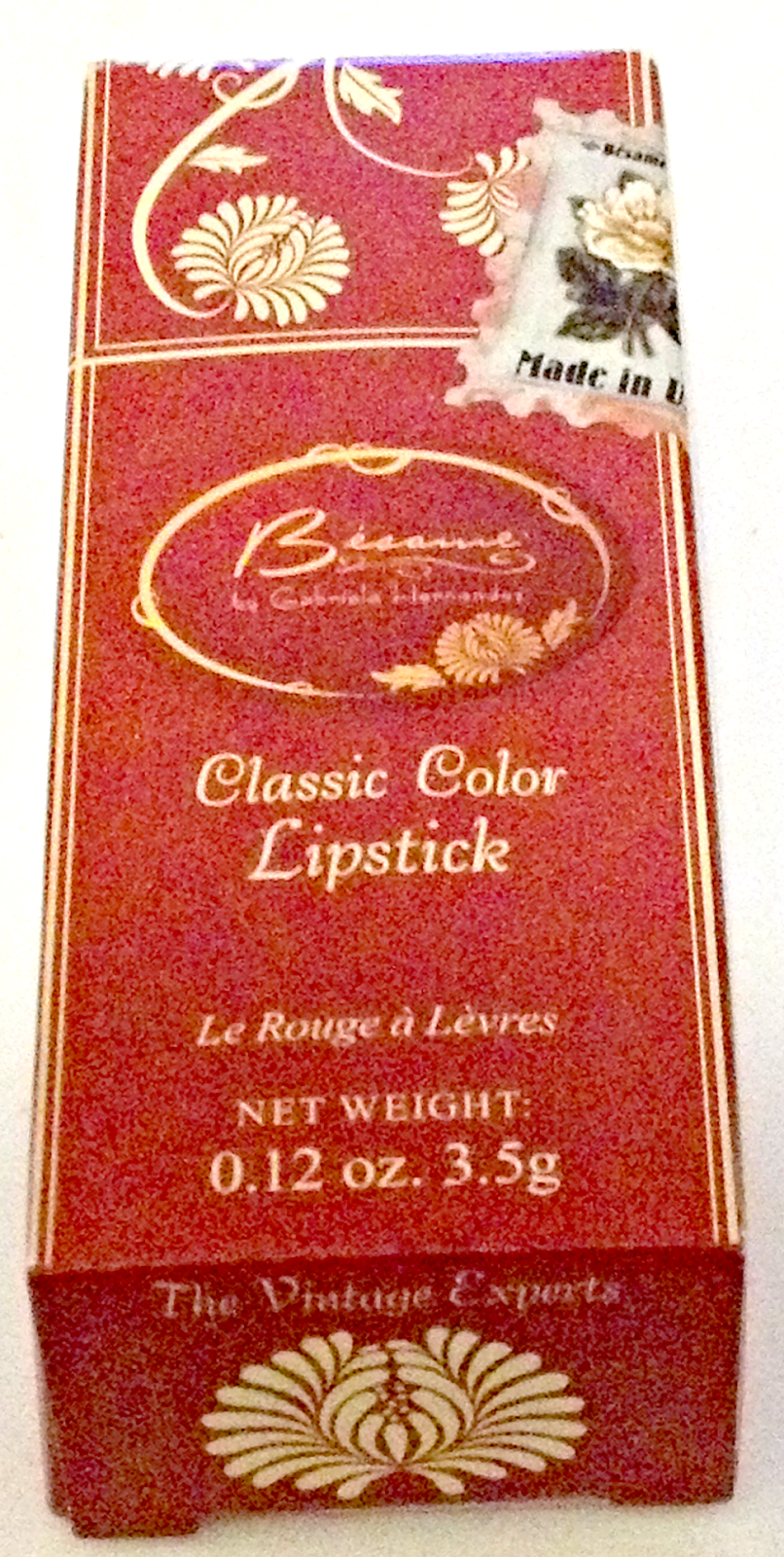 besame lipstick bag