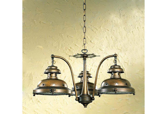 3 Light Escotilha Nautical Chandelier