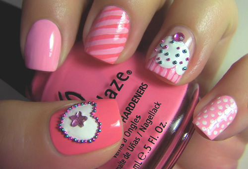 Pretty fake nail designs