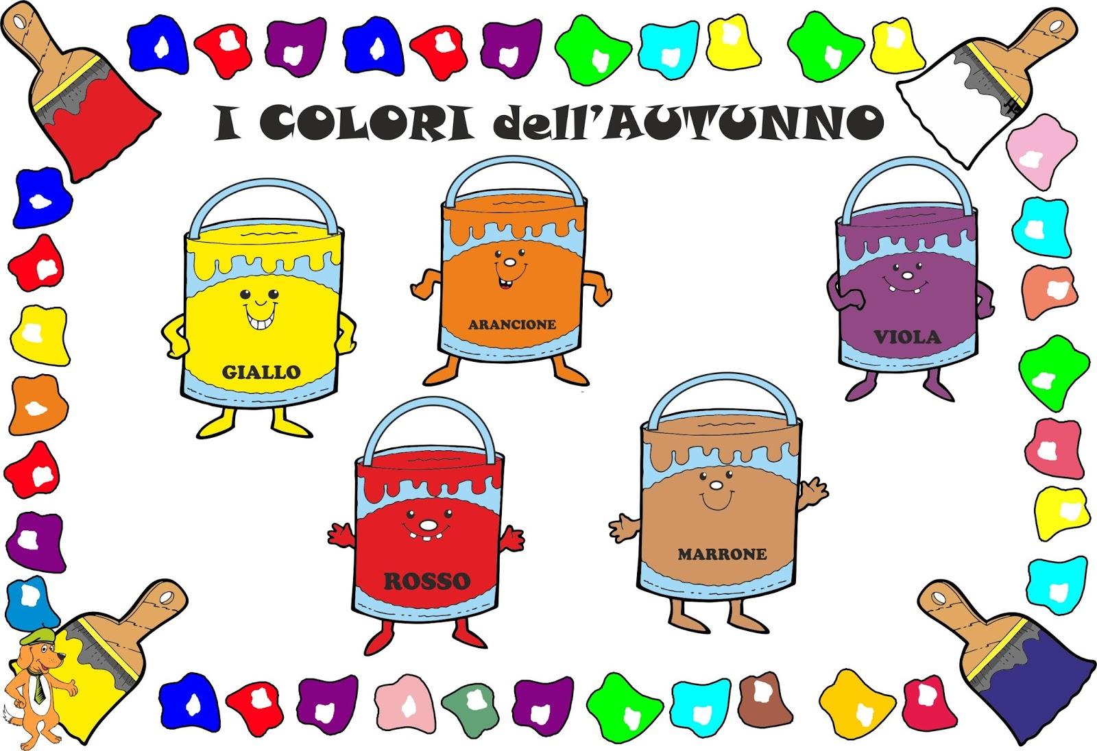 Favorito A Scuola con Poldo: I colori dell'autunno FO33