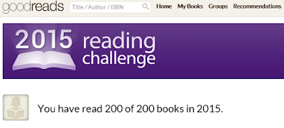 finished 2015 goodreads challenge