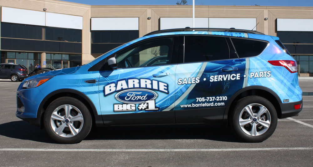 Barrie ford escape wrap