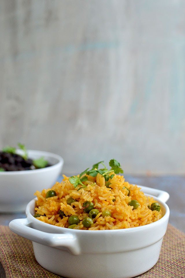 Vegan Cuban Yellow Rice