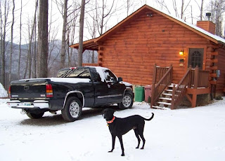 Cataloochee Mountain Cabin near the Ski  area and Pet friendly