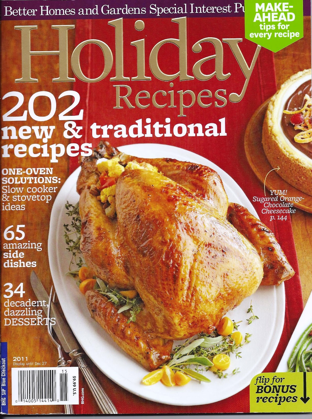 the iowa housewife better homes and gardens holiday recipes
