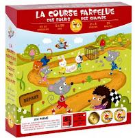 Jeu ludo-éducatif : La course farfelue des souris des champs