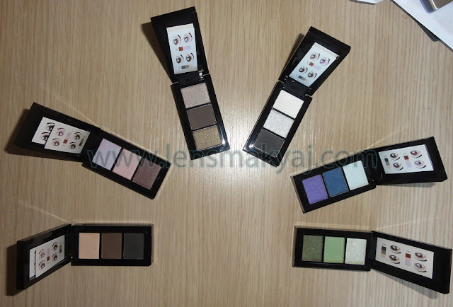Oriflame Beauty Color Pro farlar