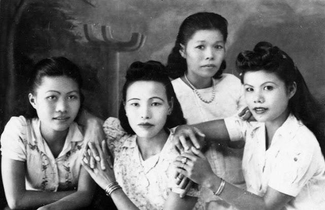 Prostituées vietnamiennes en 1950