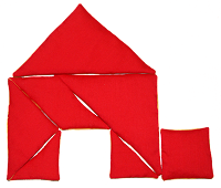 Fabric Tangram House