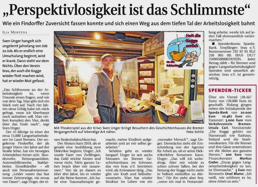 Weser Report vom 22.03.2015