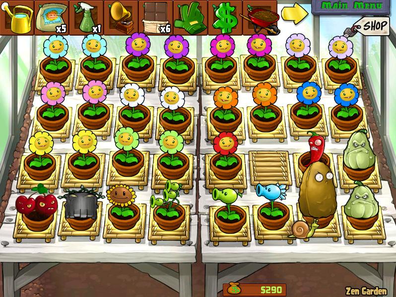Todas las plantas de plants vs zombies imagui for Jardin zen plantas vs zombies