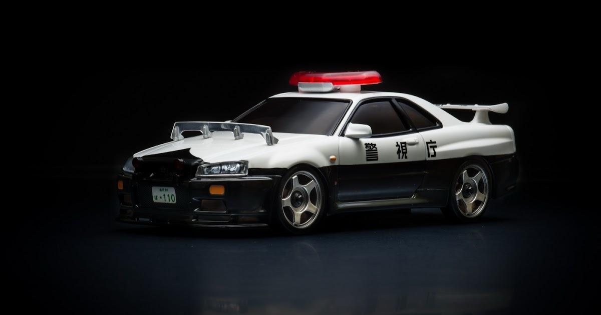 Autoscale Studio オートスケール・スタジオ Mzg34p Police Car Nissan