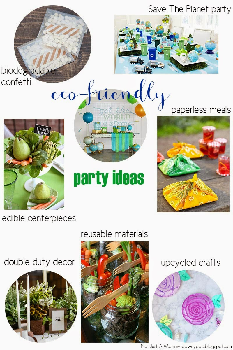 Eco-Friendly Party Ideas For Earth Day