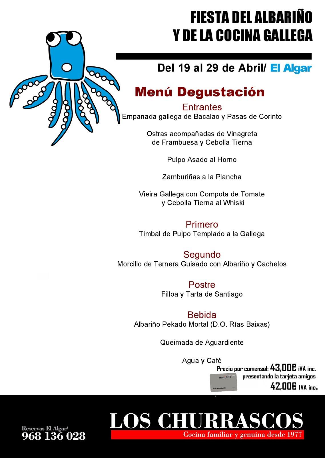 """""""Fiesta del Albariño y la Cocina Gallega"""""""