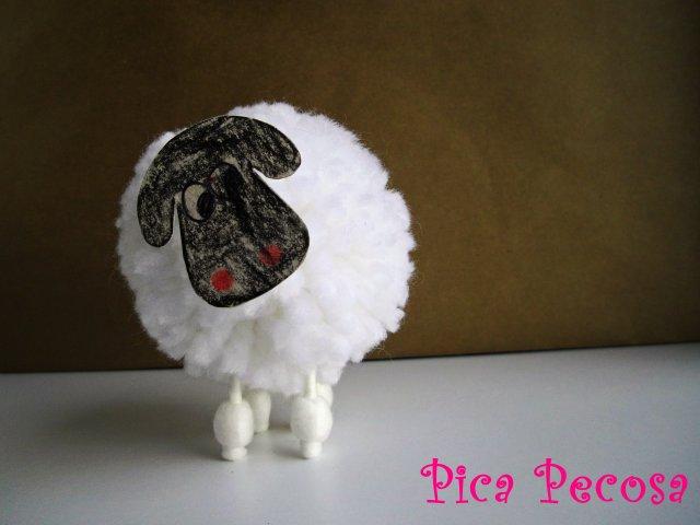 Como elaborar una oveja imagui - Como hacer una oveja ...