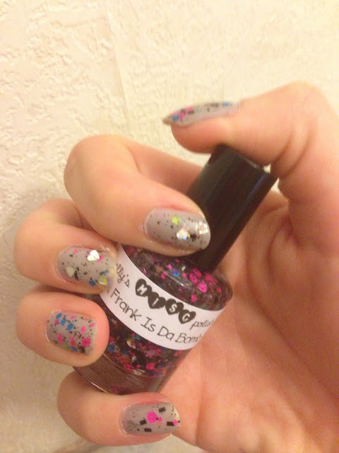 trelly polish, Trelly Polish: Lisa Frank is Da Bomb Review, Lisa Frank is Da Bomb Review