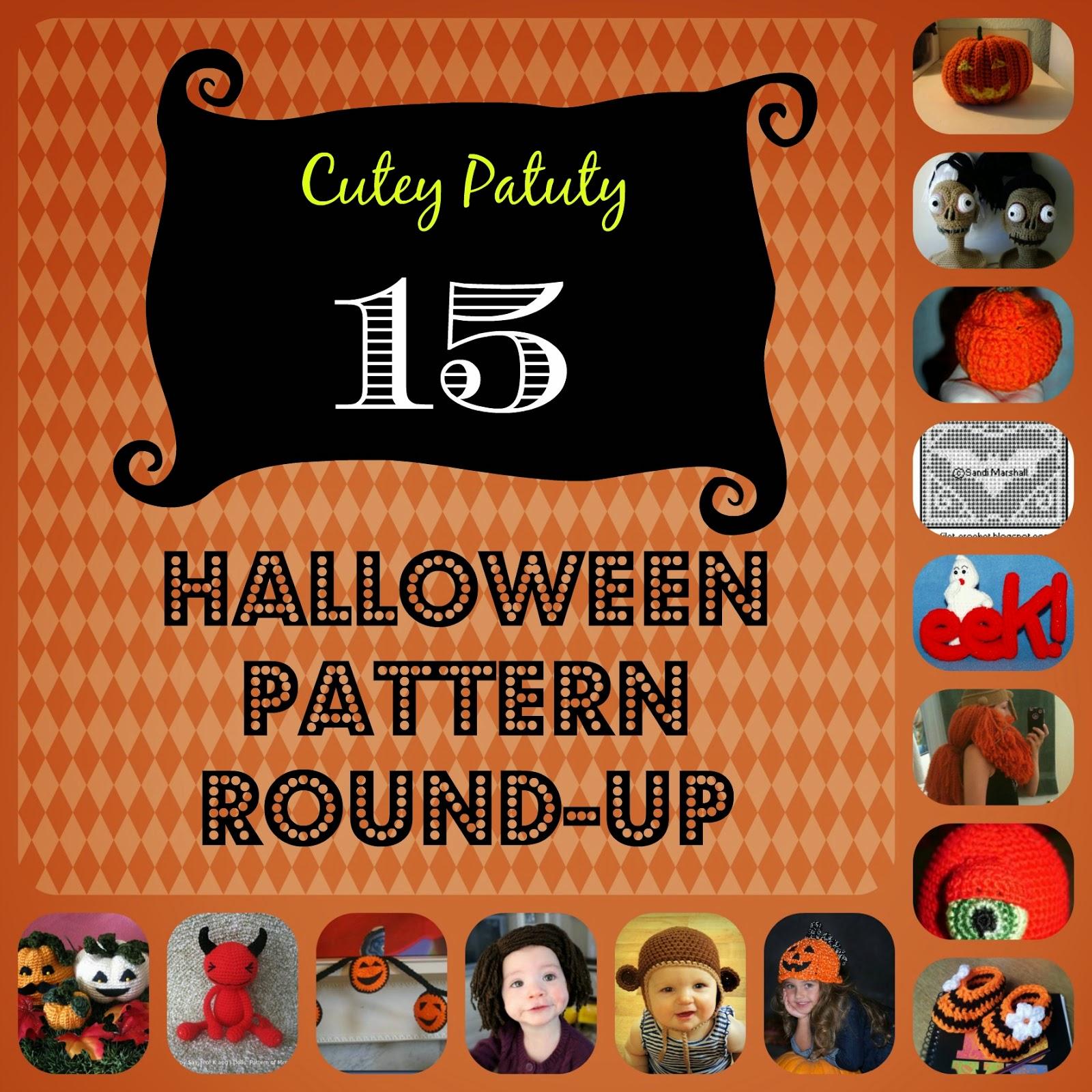 <15 Halloween Pattern Round-up>