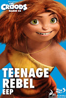 The Croods Teenage Rebel Poster