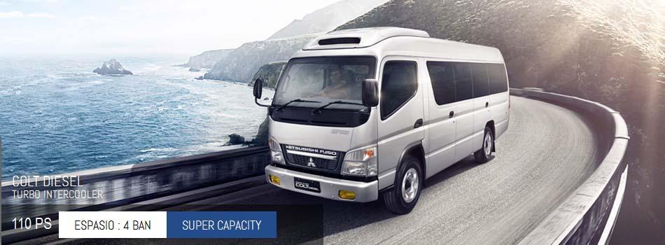 Harga Mitsubishi Colt Diesel Bus Espasio 110 PS Pekanbaru Riau | Harga Termurah | Proses Kredit Mudah