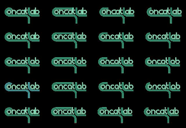 selection matrix of logo concepts