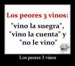 los 3 peores vinos