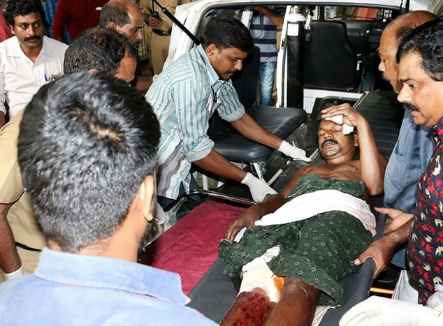 Firework horror 105 dead and hundreds injured Puttingal temple in Paravur India