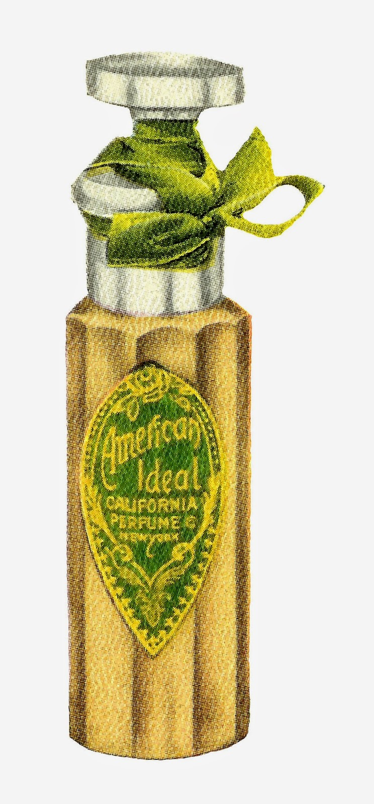 Antique Images: Free Vintage Beauty Digital Clip Art Bottle of ...