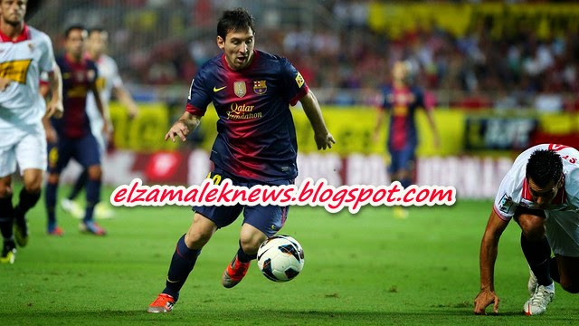 Lionel Messi play maker of Barcelona