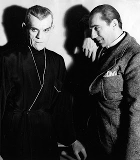Karloff y Lugosi en The Black Cat