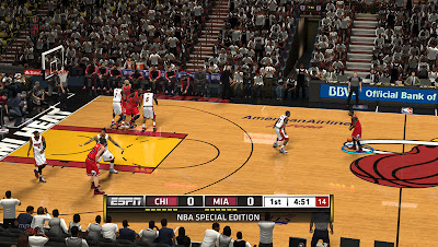 NBA 2K13 Miami Heat Court Playoffs Update