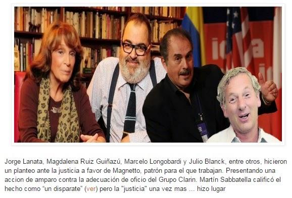 Periodistas militantes