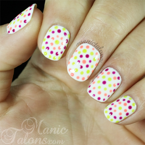 Summer Doticure with Purjoi One Step Gel Polish