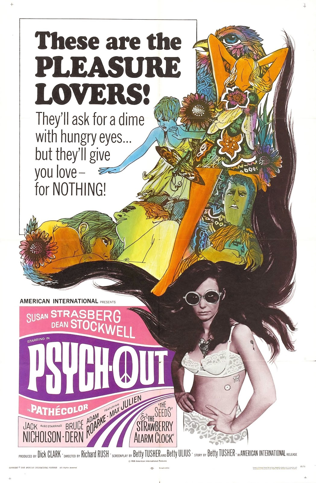 Psych-Out poster