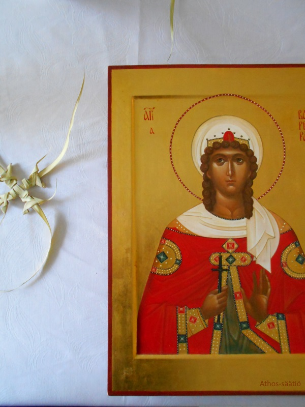 Pyhä Varvara, rukoile Jumalaa meidän puolestamme!