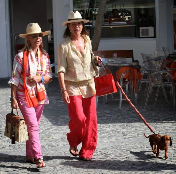 Princess Caroline in Saint-Tropez by Cool Chic Style Fashion