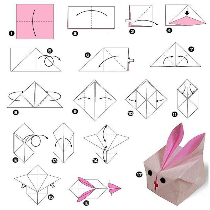 Оригами. Цветы, бабочки, опять