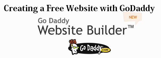 How to Create a Free Website with GoDaddy : eAskme