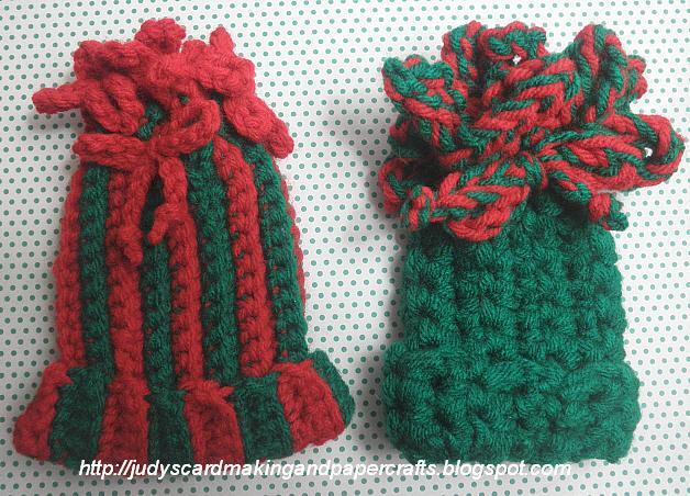 Judys Handmade Creations: Crocheted Hat Gift Card Holder!!