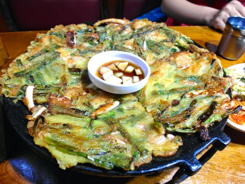 Ewha University Summer Studies Travel Seoul lunarrive singapore Makgeolli Shrimp Pancake sinchon