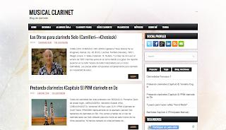 Musical Clarinet Blog del Clarinete en Directoriopax.com