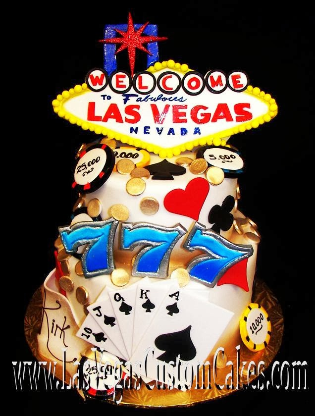 Extraordinary Las Vegas Themed Wedding Cake Designs Wedding Cake Designs