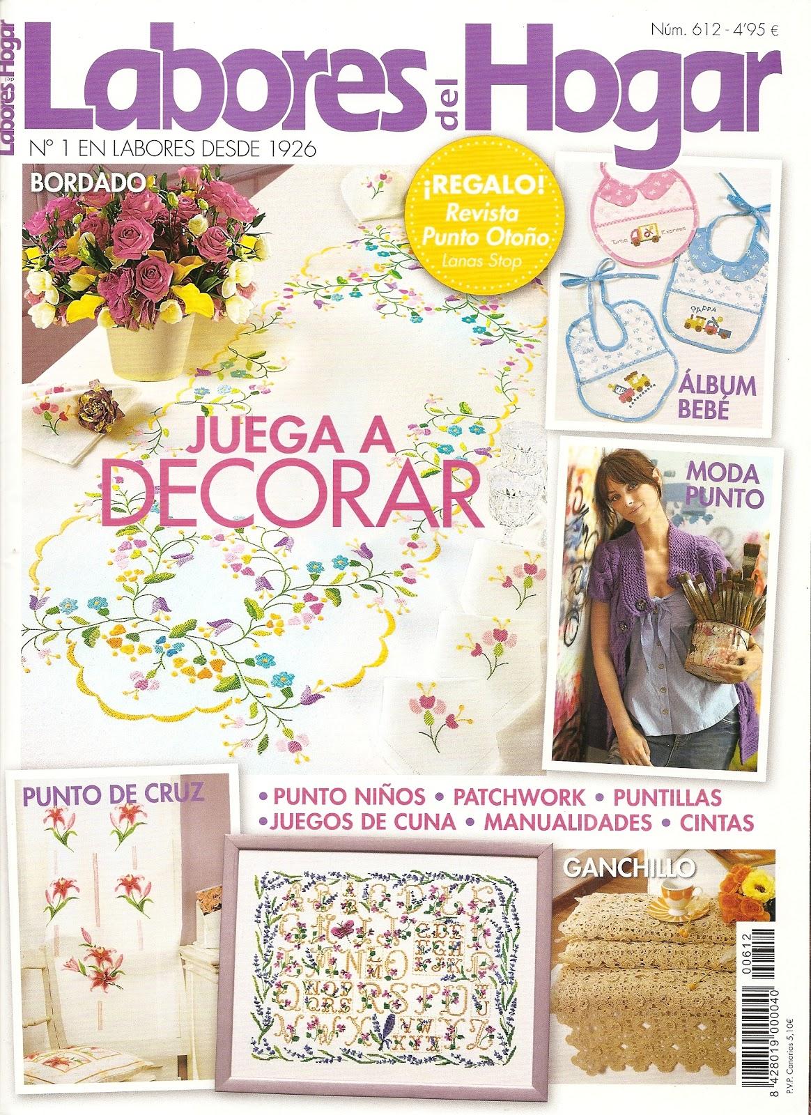 Essa é a penúltima edição da revista Labores del Hogar numero 612