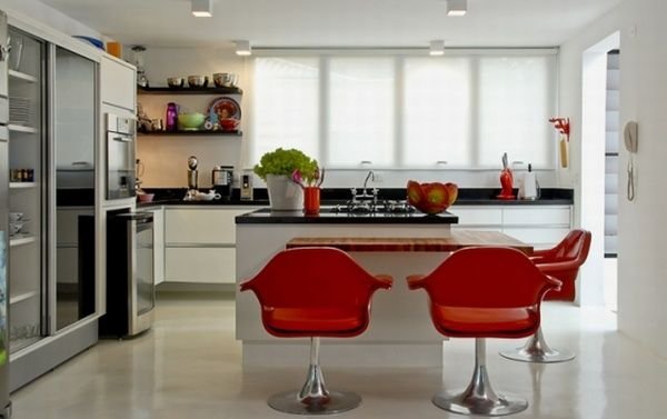 Modern Furniture: Modern Kitchen Decorating Designs Ideas 2011